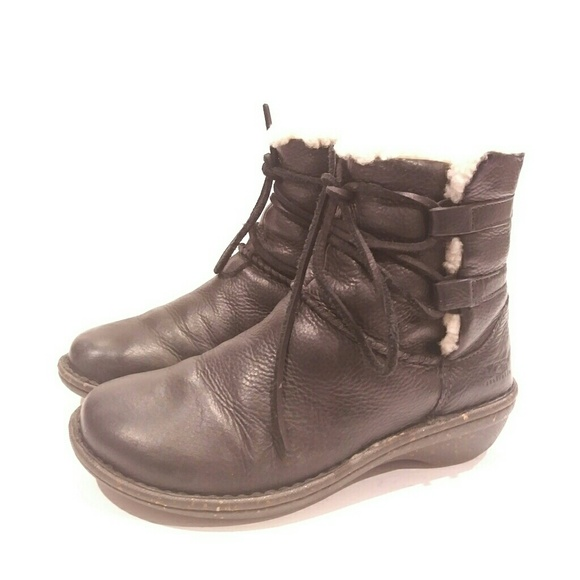 UGG Shoes   Ugg Lace Up Short Boots
